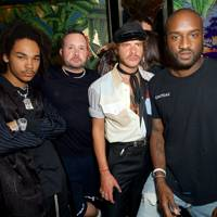 Luka Sabbat, Kim Jones, Luke Day and Virgil Abloh