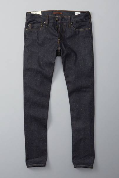 Abercrombie & Fitch raw selvedge jeans