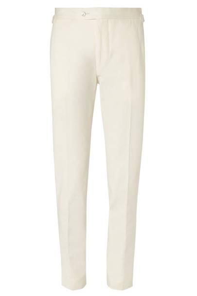 P Johnson cotton-twill trousers