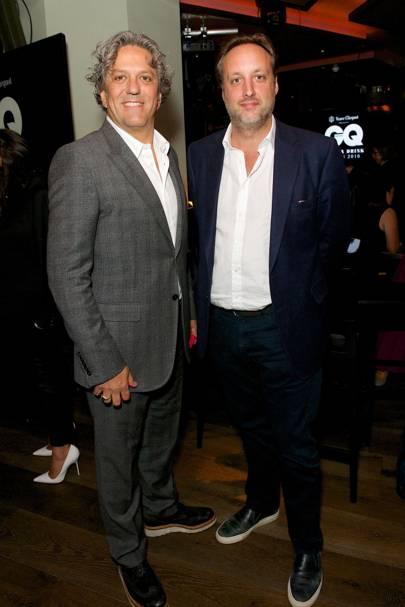 Giorgio Locatelli and Matt Hobbs