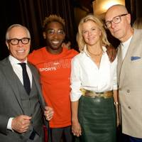 Tommy Hilfiger, Tinie Tempah, Avery Baker and Dylan Jones