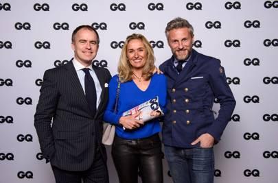 V.l.Arnaud Vidal, Sylvie Viot and Nicolas Salomon