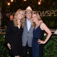 Sarah Tuite, Four Seasons Hotels and Resorts Founder and Chairman, Isadore Sharp and Ashley McClinton