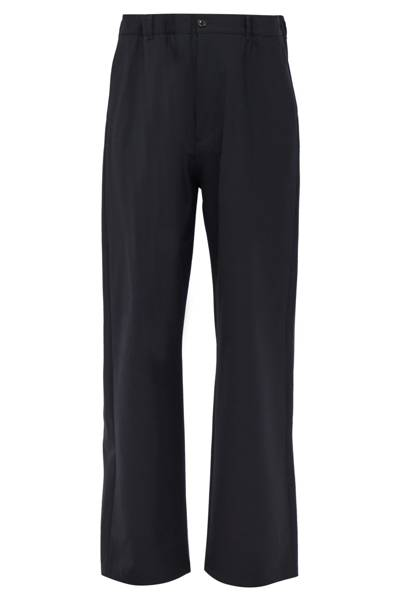 Elasticated-belt tailored trousers by Maison Margiela