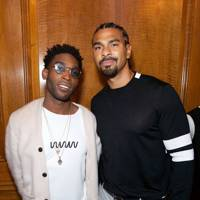 Tinie Tempah and David Haye