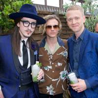 Joshua Kane, Dougie Poynter and Alistair Foster