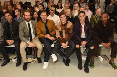 Thom Evans, Craig McGinlay, Paul Sculfour, Oliver Cheshire, Joshua Patterson, and Eric Underwood