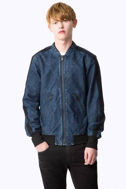 Diesel 'Presley-Angle' denim jacket
