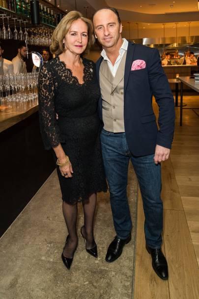Caroline Michel and Flume's General Manager Corrado Lamanuzzi
