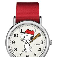 Timex x Peanuts 'Weekender' wristwatch