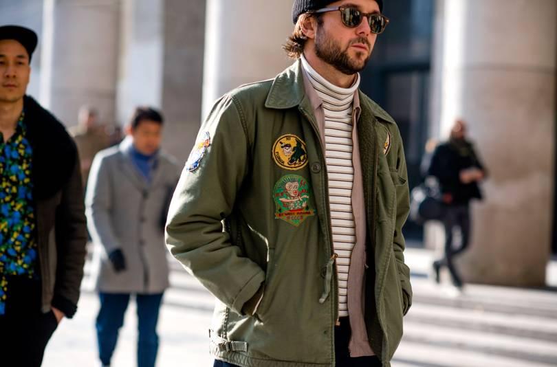 Men 39 S Street Style From Paris Fashion Week Autumn Winter 2017 British Gq