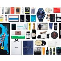 GQ winners' and presenters' goodie bags, worth more than £7,500, received by 65 guests