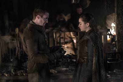 9. Arya and Gendry