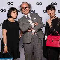 Takako Konashi, Masafumi Suzuki, Editor in Chief, GQ Japan and Shino Matsuno