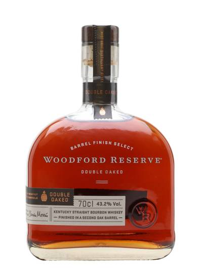 9. Woodford Reserve Double Oaked Whiskey