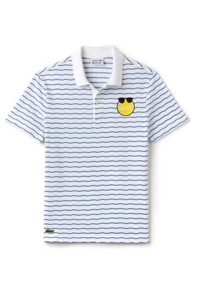 Lacoste x Yazbukey polo shirt