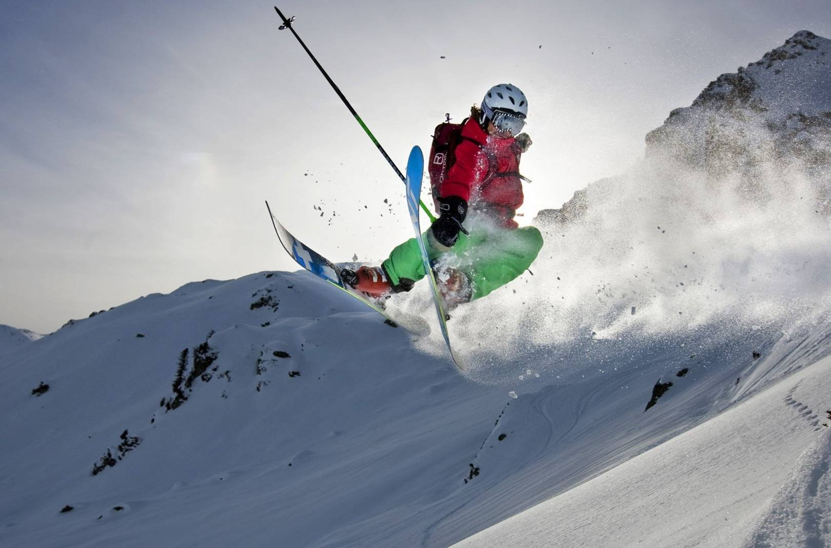 how to 360 on skis jump guide british gq