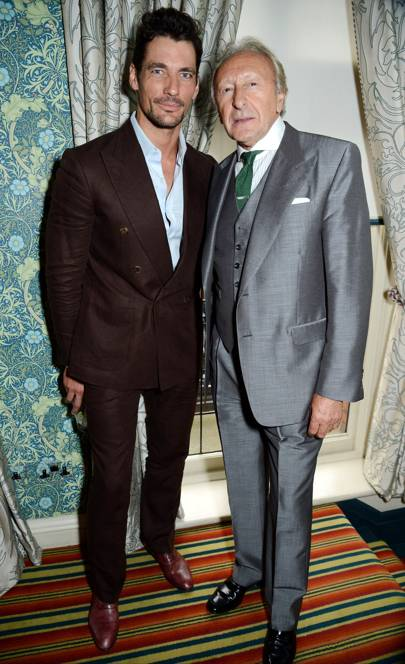 David Gandy and Harold Tillman