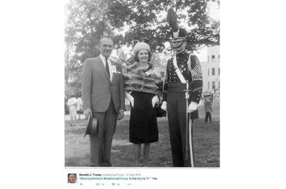 1959: Trump is sent to New York Military Academy