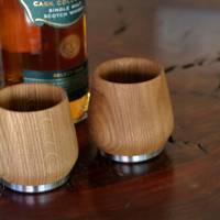 Oak Honey Whisky Tumbler by Nisnas Industries