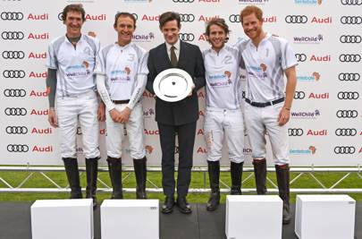 Luke Tomlinson, Mark Tomlinson, Matt Smith, Charlie Hanbury & Prince Harry