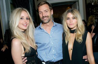 Diana Vickers, Patrick Grant and Kara Rose Marshall