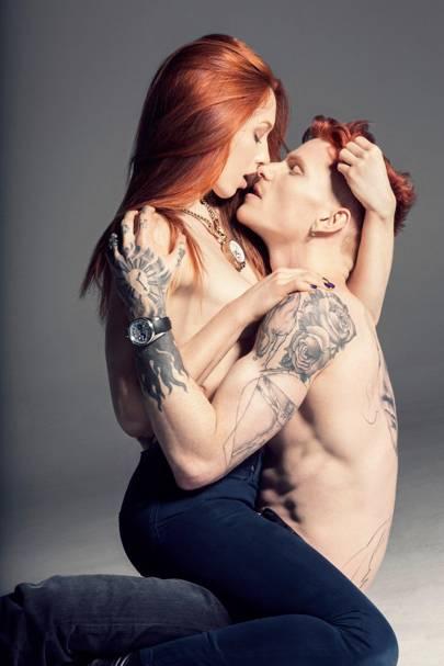 Katrina Lilwall and Jake Hold