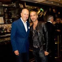 Dylan Jones and Mandrake owner Rami Fustok