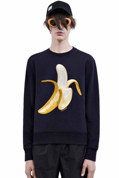 Acne Casey Banana sweatshirt