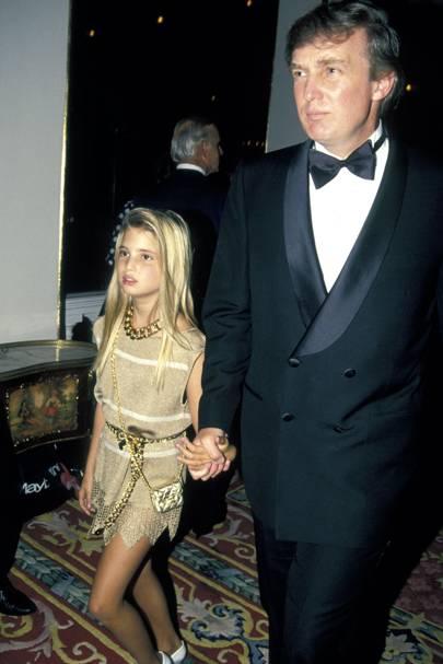 1981: Ivanka Trump is born