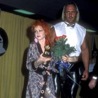 1985: Cyndi Lauper and Hulk Hogan