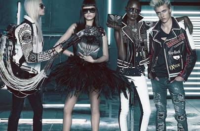 42a52d446ee Lucky Blue Smith leads Philipp Plein's new fashion #squad | British GQ