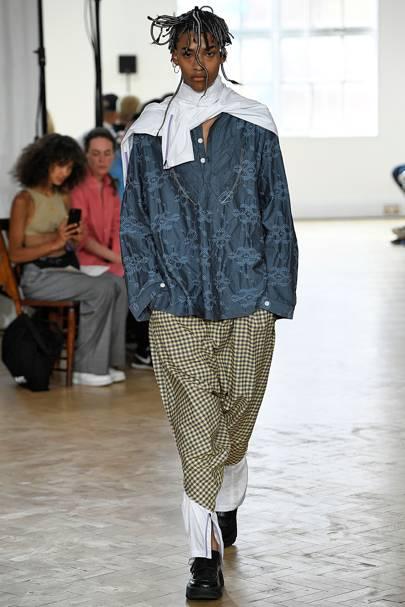 e27b92492bda Kiko Kostadinov Spring Summer 2019 Menswear show report