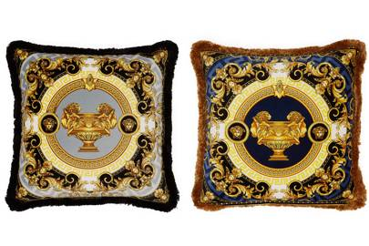 Cushions by Versace