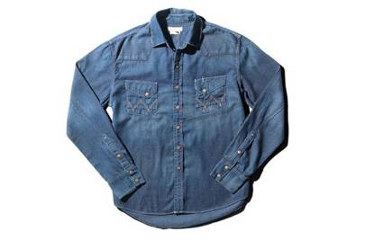 Denim shirt by Wrangler