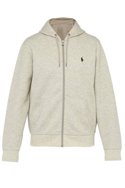 Logo-embroidered hooded sweatshirt by Polo Ralph Lauren