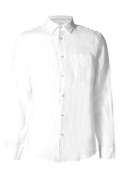M&S pure linen easy-care shirt