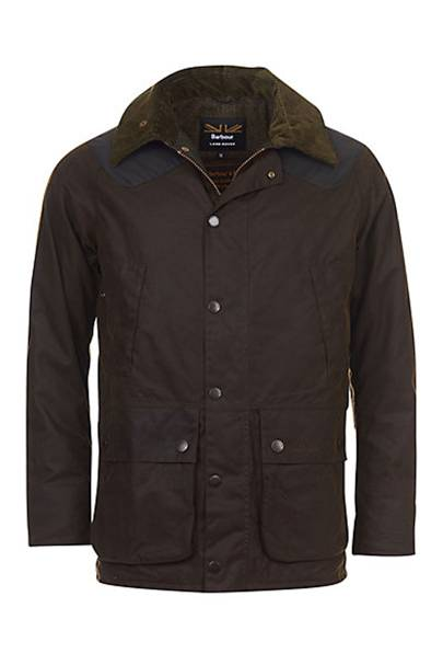 Barbour Land Rover Defender Hales waxed jacket