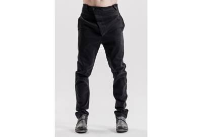 Powha Black Modern mens trousers by Vathir