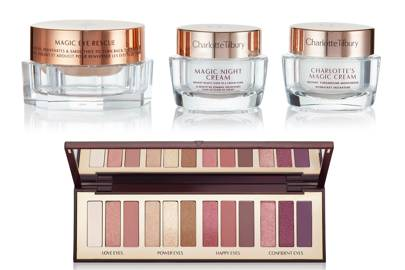 Makeup and skincare by Charlotte Tilbury
