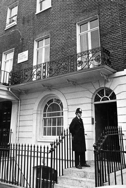 Lord Lucan's home in Lower Belgrave Square