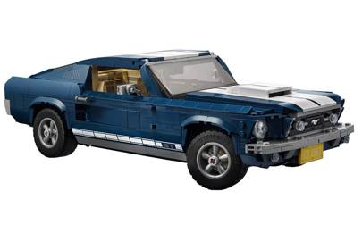 Lego's 1967 Ford Mustang kit