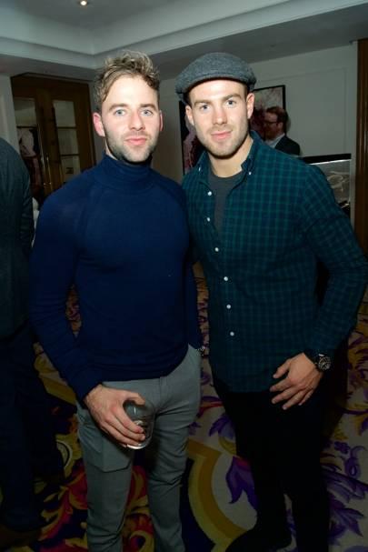 James Simmonds and Bradley Simmonds