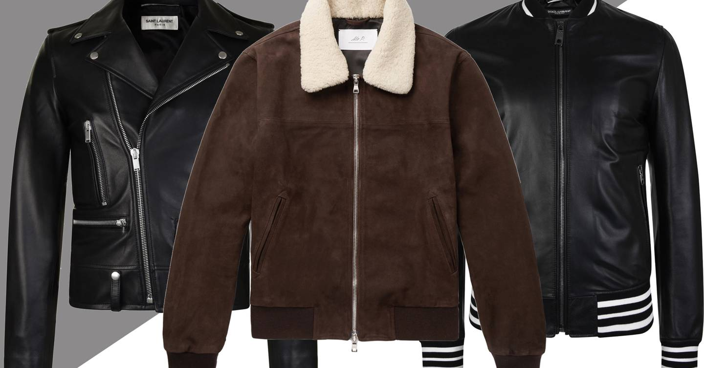 218c19da164a3 Men s leather jackets  how to look good in leather