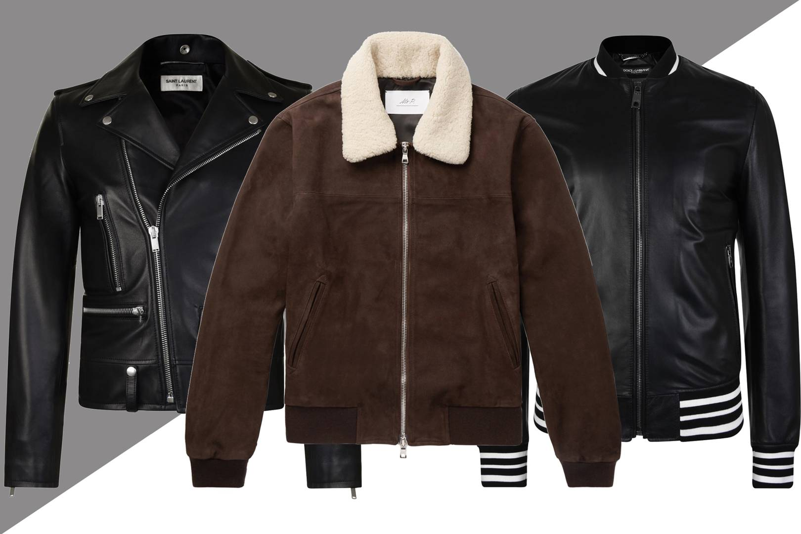 b0f7bdee538bd Men s leather jackets  how to look good in leather