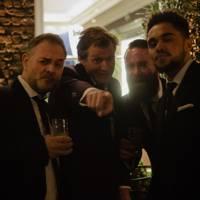 Jason Flmyng, Eran Creevy and guests
