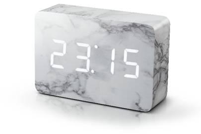 Brick marble clock by Gingko