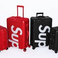 Supreme x Rimowa luggage