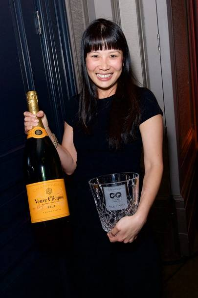 Sandia Chang, winner of Best Front Of House at Bubbledogs