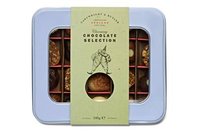 Cartwright and Butler mini chocolate selection